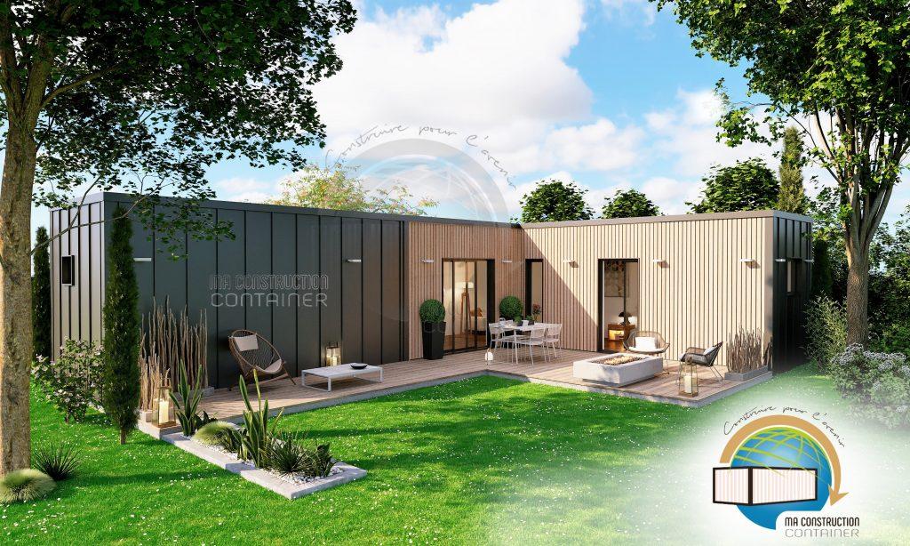 Maison Container AGATHE - 39.27 m²
