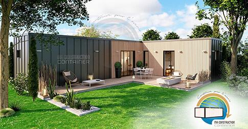 modèle maison container Agathe