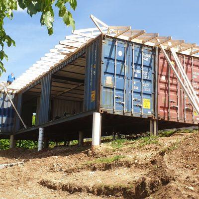 Construction Maison Container